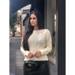 Blusa Trança com Links